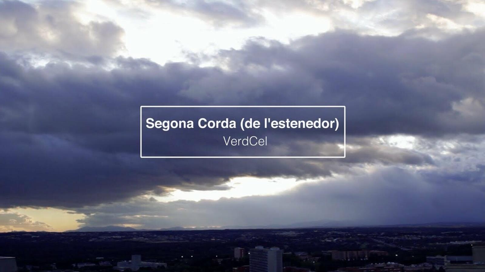VerdCel, 'Segona corda (de l'estenedor)', videoclip