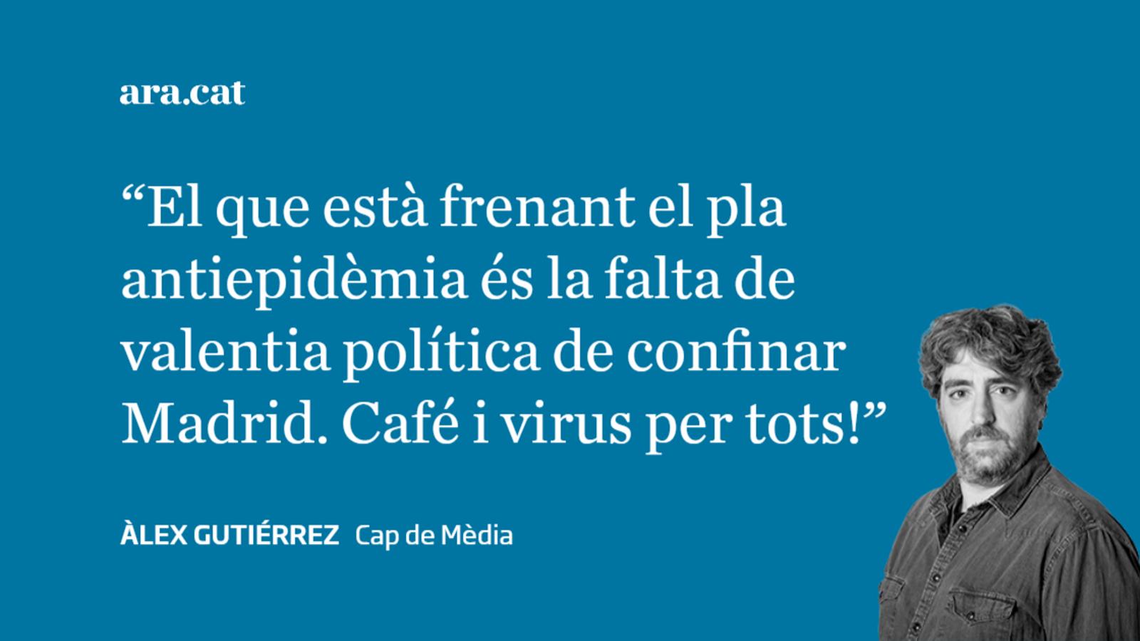 El govern espanyol, a les portades: virus per a tots!