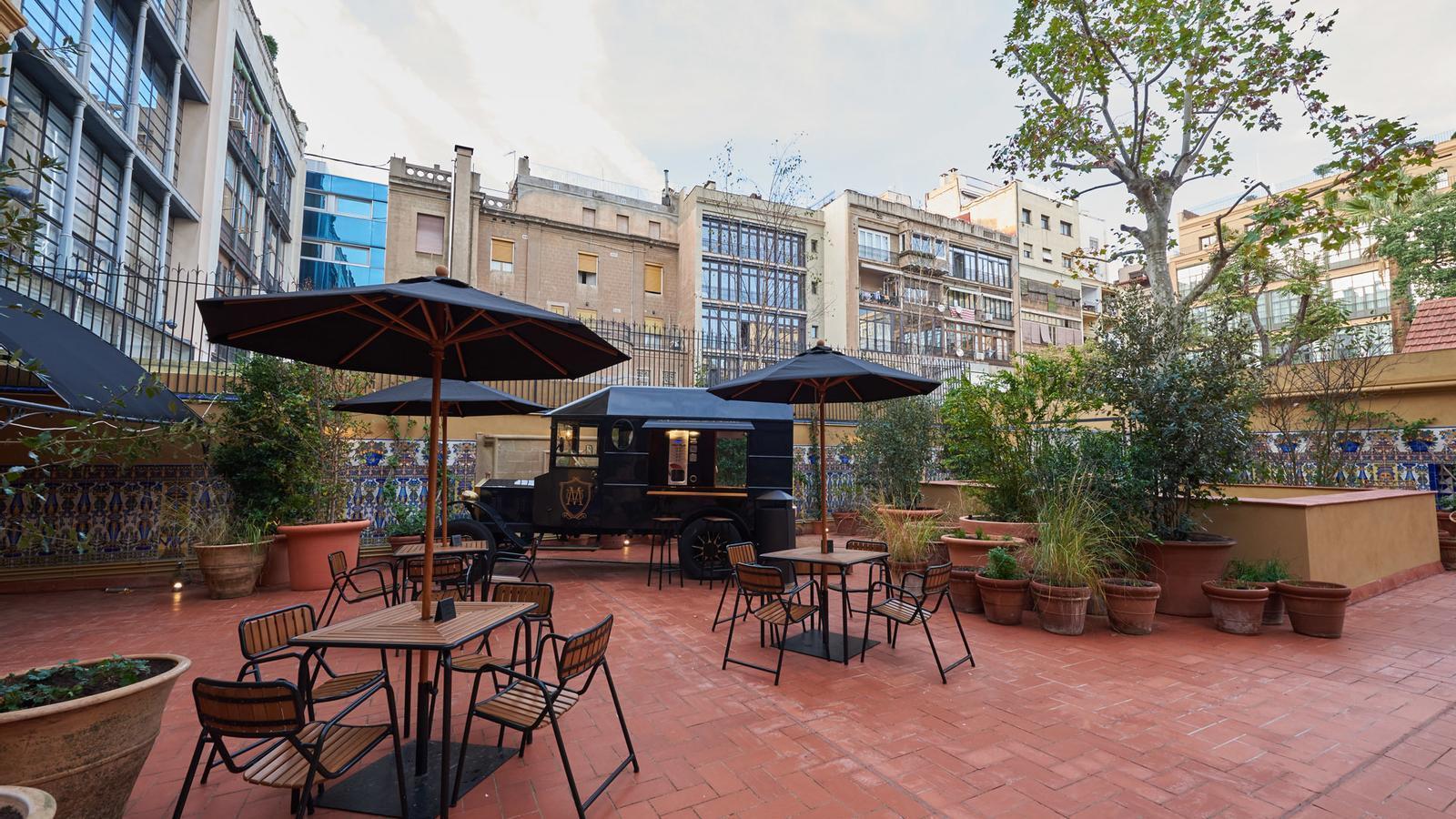 La terrassa, des d'on es pot veure la part posterior de la Casa Milà, estarà oberta al públic / INDITEX