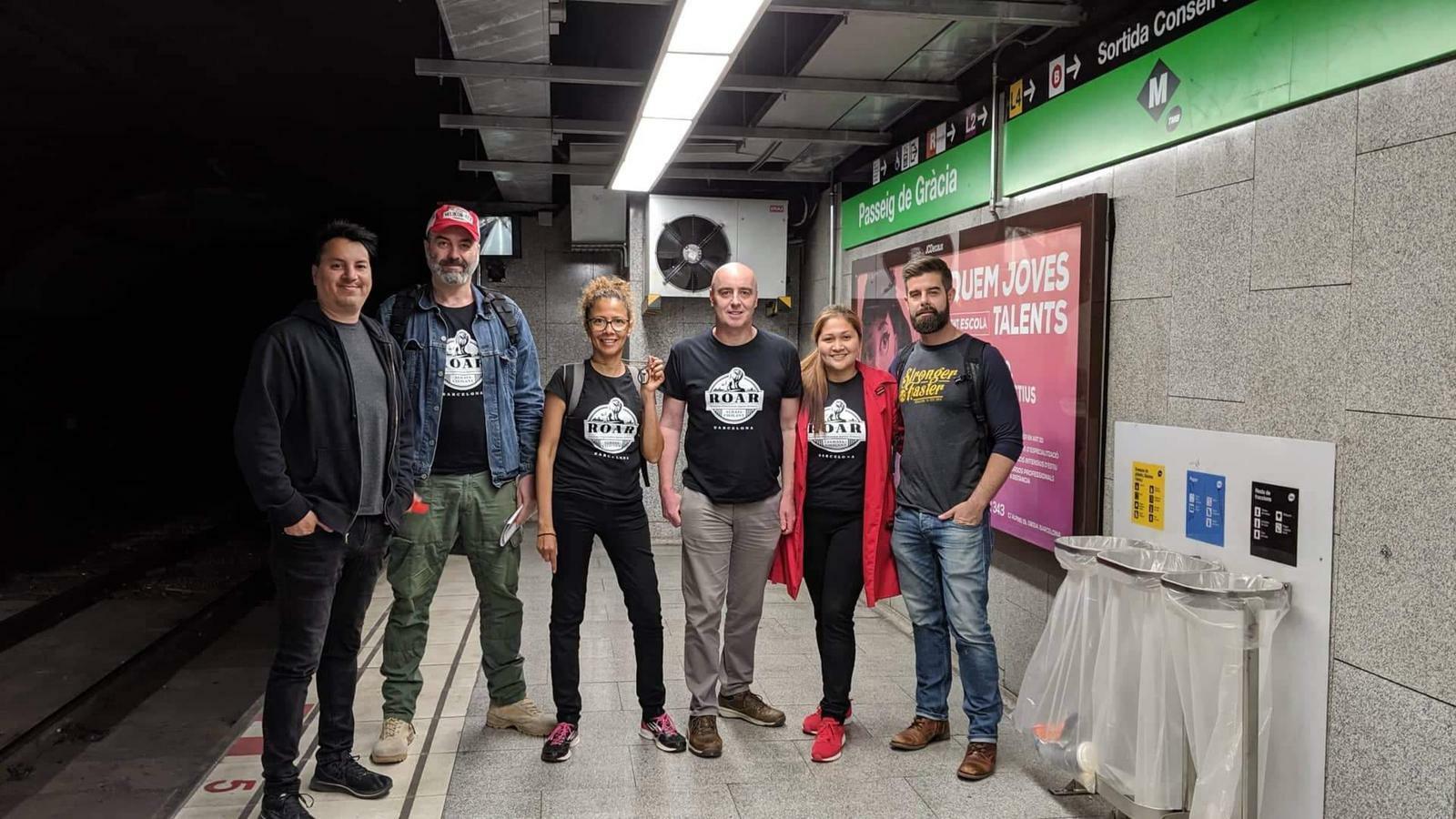Patrulles ciutadanes al metro per expulsar els carteristes