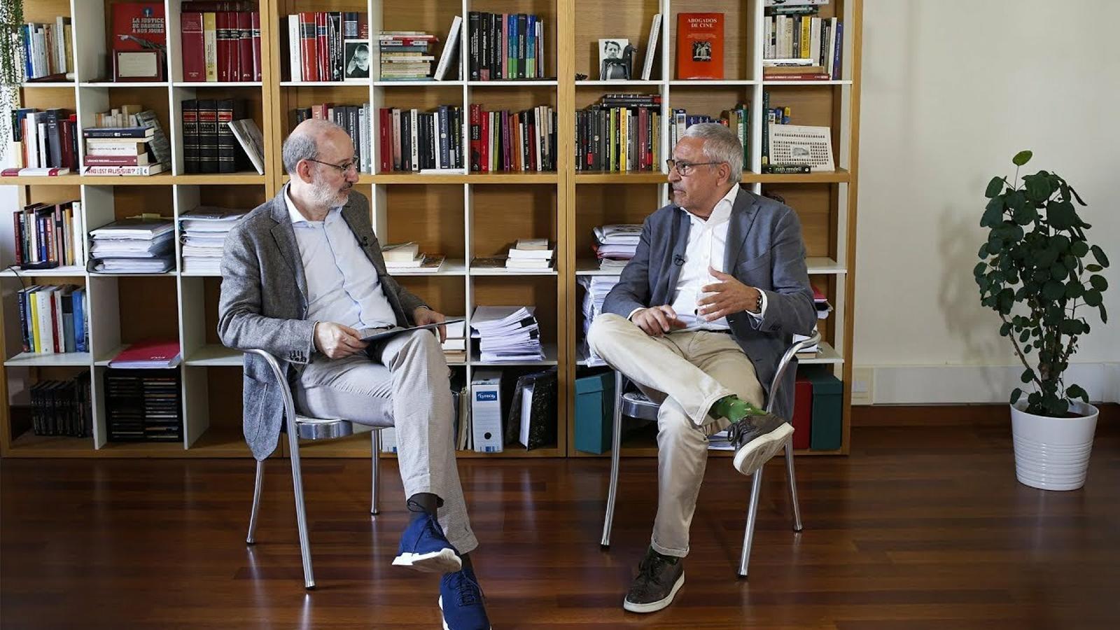 Entrevista d'Antoni Bassas a Xavier Melero