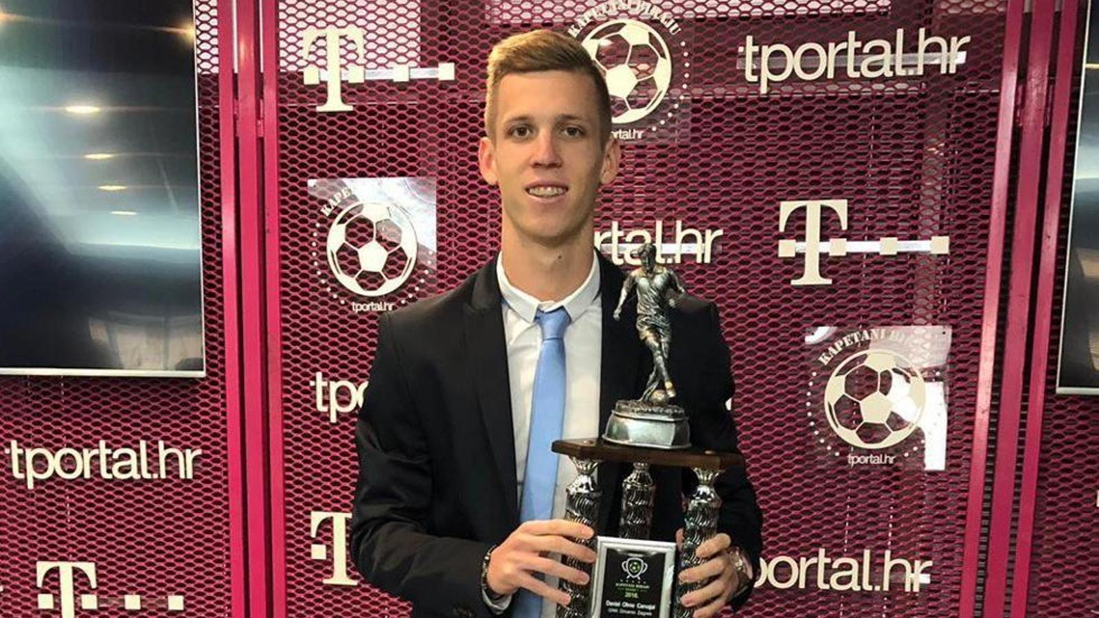 El català Dani Olmo, escollit millor jugador de l'any a Croàcia