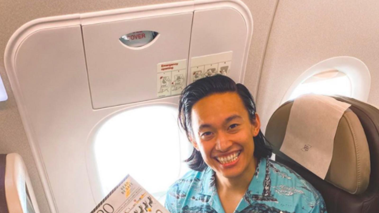 Nadzri Harif, un dels passatger del vol de Royal Brunei cap a enlloc