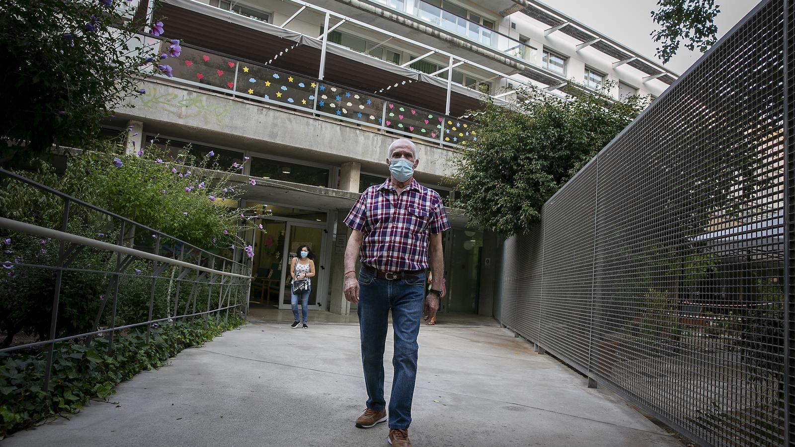 En Dídac viu a la residència i a partir de demà podrà sortir a passejar pel carrer després de sis mesos