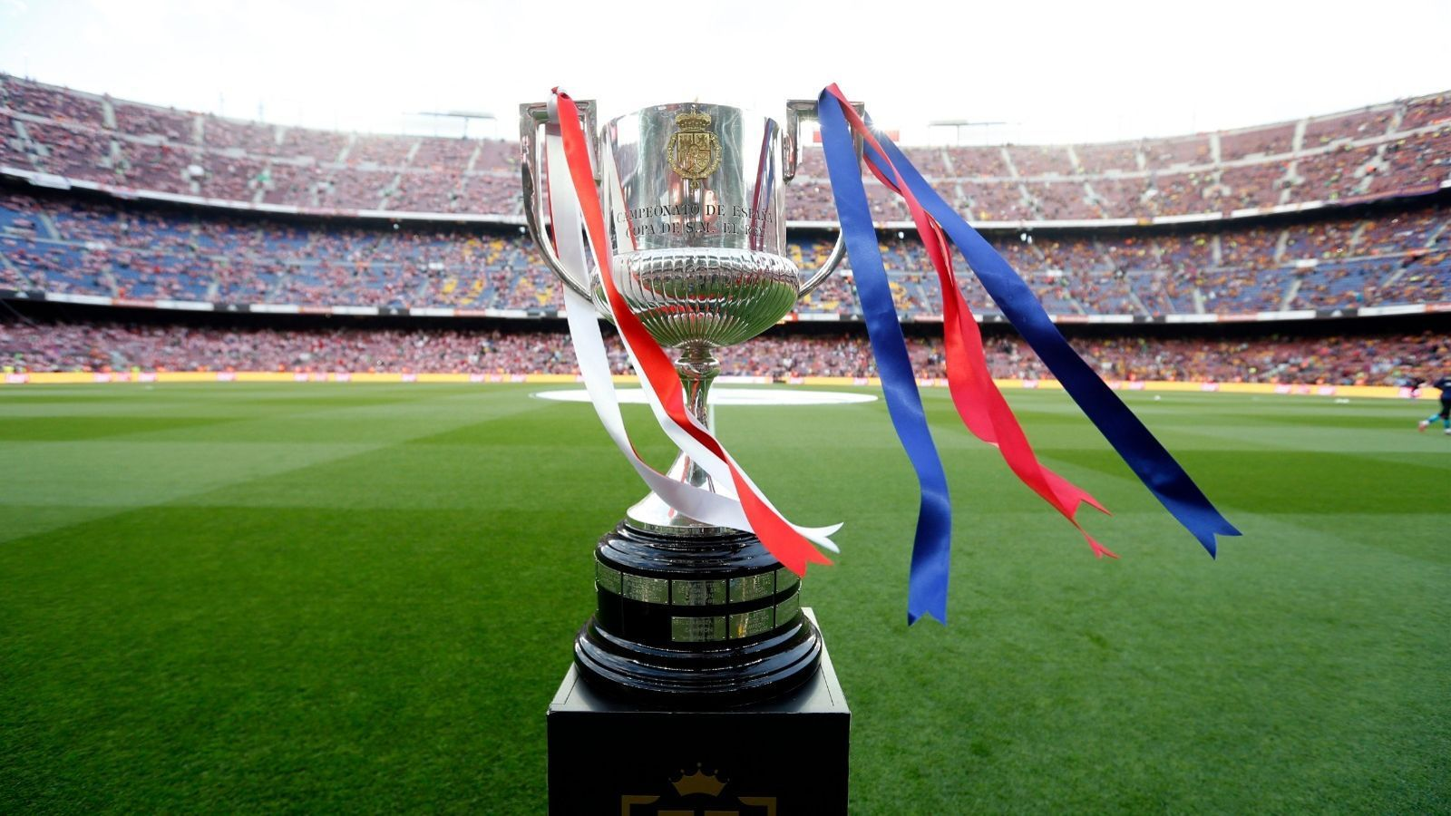 El títol de la Copa del Rei, sobre la gespa del Camp Nou