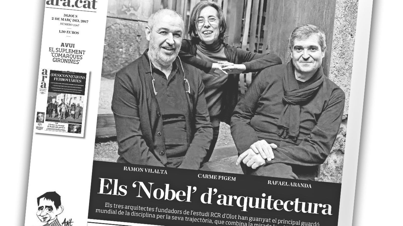 L'anàlisi d'Antoni Bassas: 'L'èxit mundial de tres arquitectes catalans'