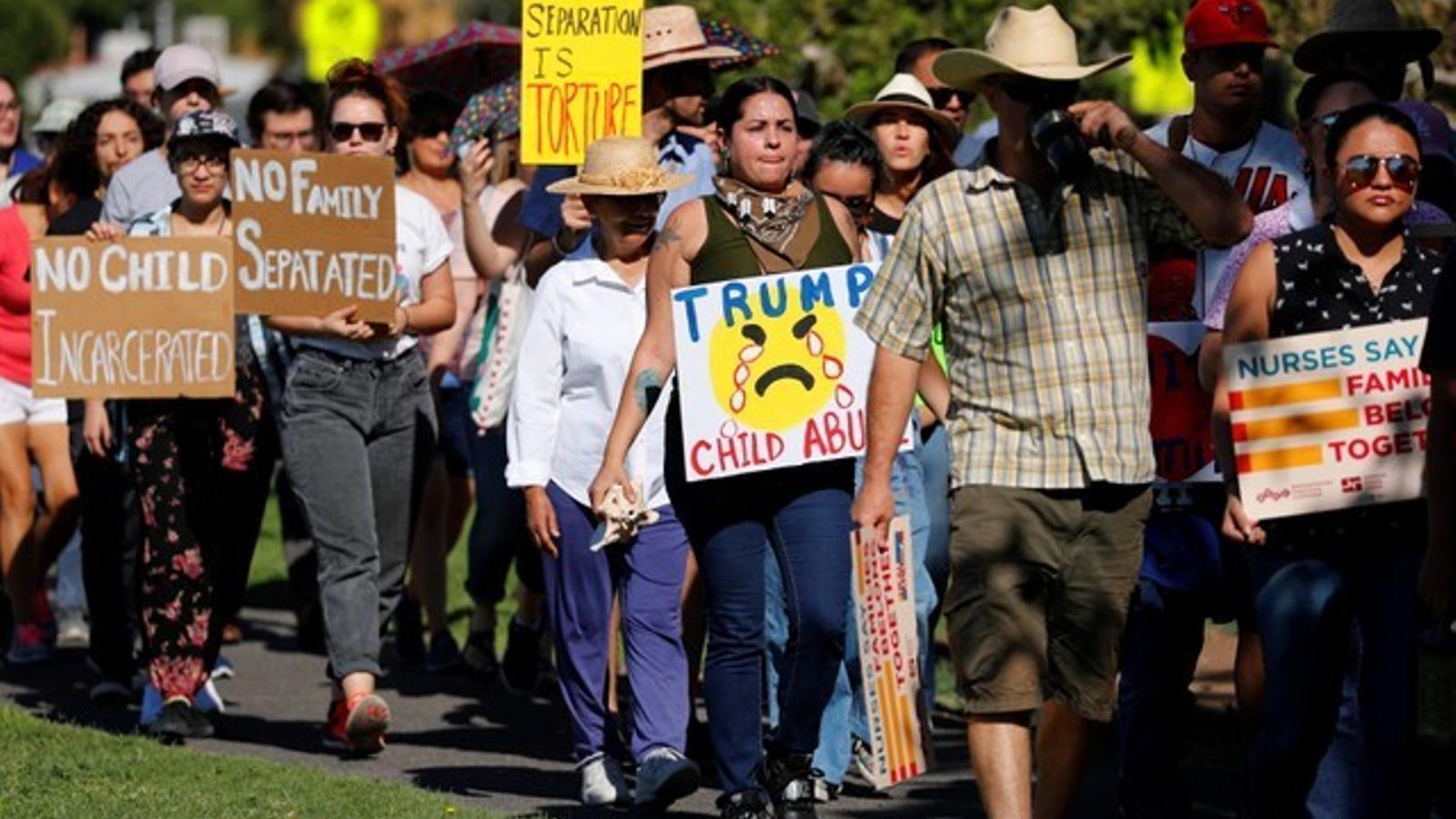 El trauma infantil d'emigrar als Estats Units de Trump
