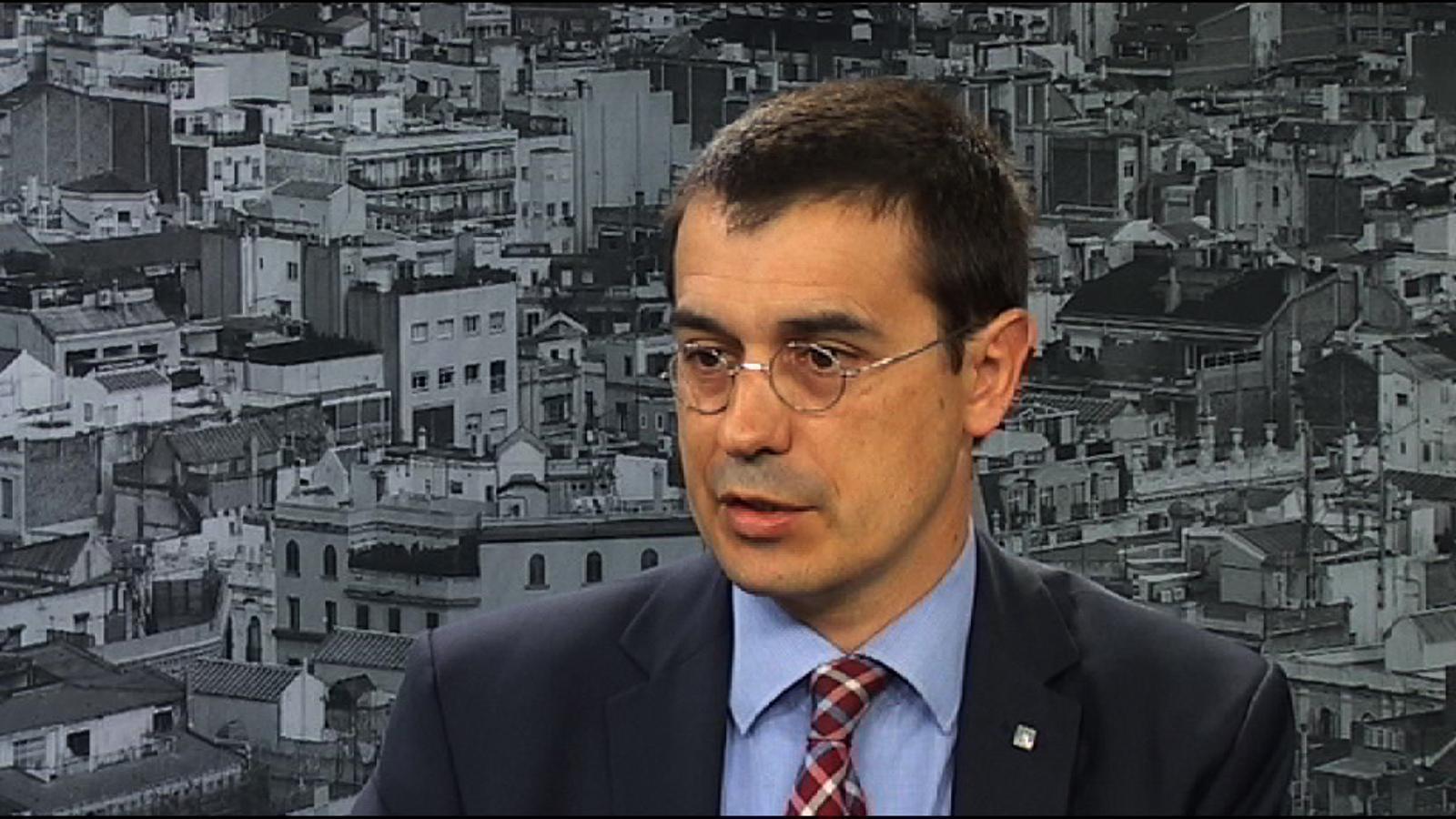 Amadeu Altafaj: A Brussel·les les municipals es veuran com un test a escala de tot l'Estat