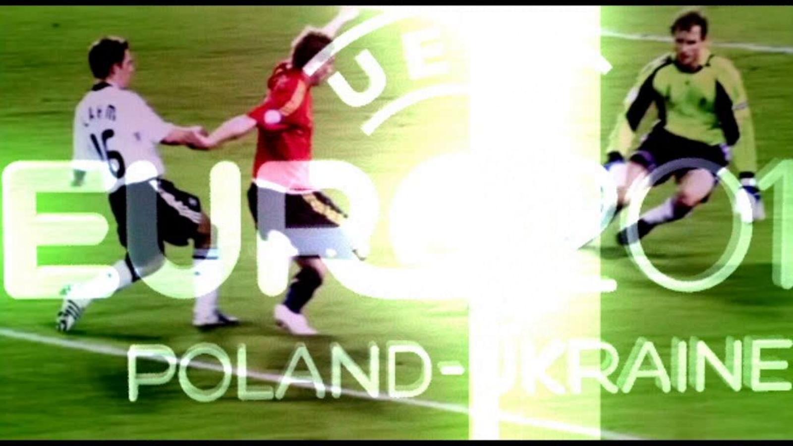 Aficionats al futbol d'arreu d'Europa omplen a vessar la Fan Zone de Varsòvia, a punt per l'inici de l'Eucopa