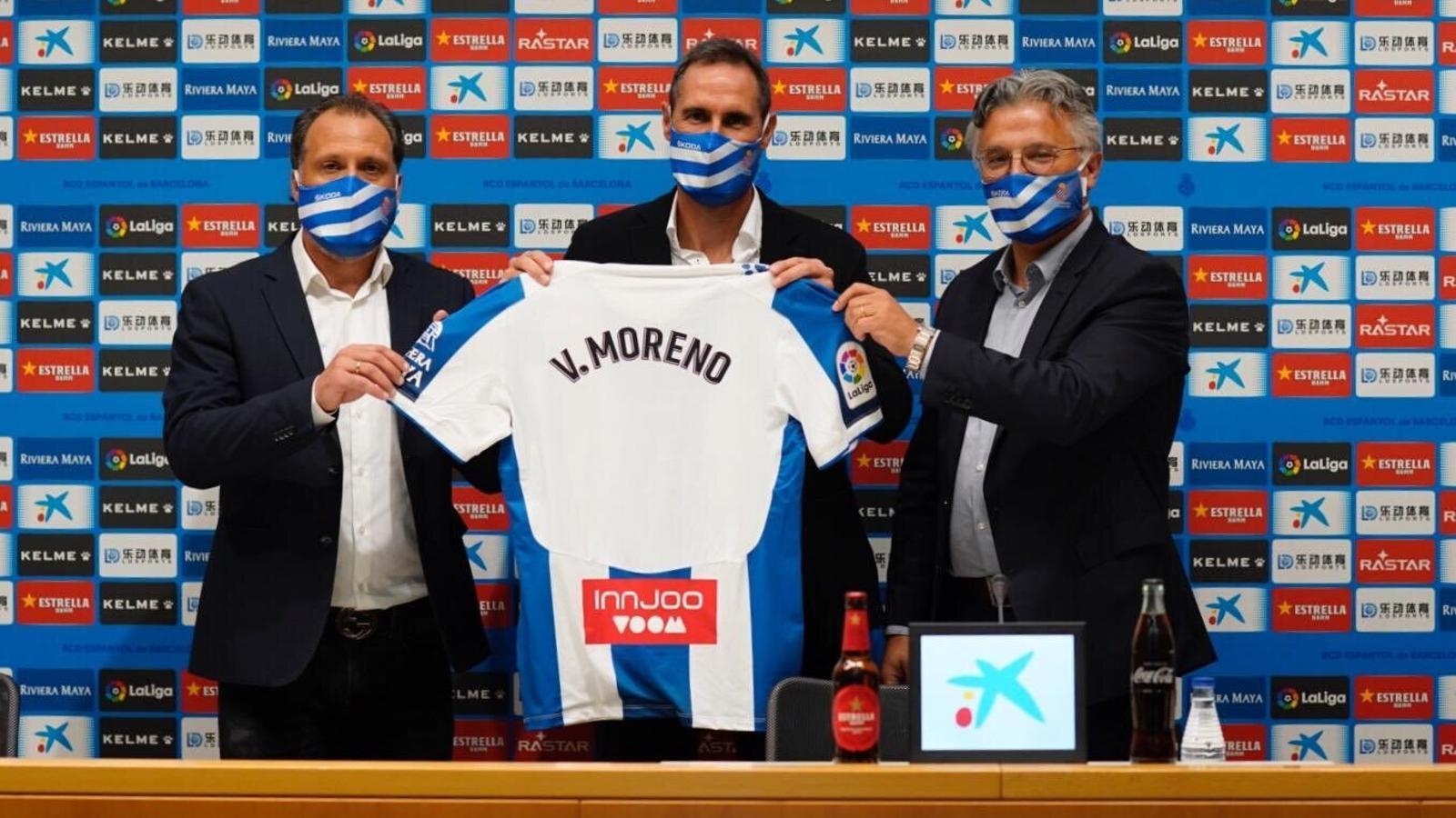 Vicente Moreno, nou tècnic de l'Espanyol