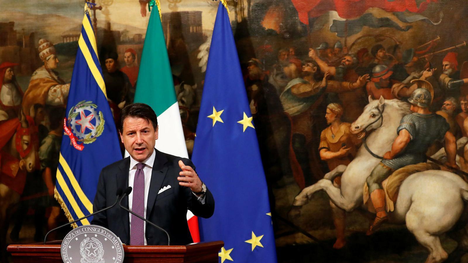 Conte amenaça amb dimitir si el govern italià no va a l'una