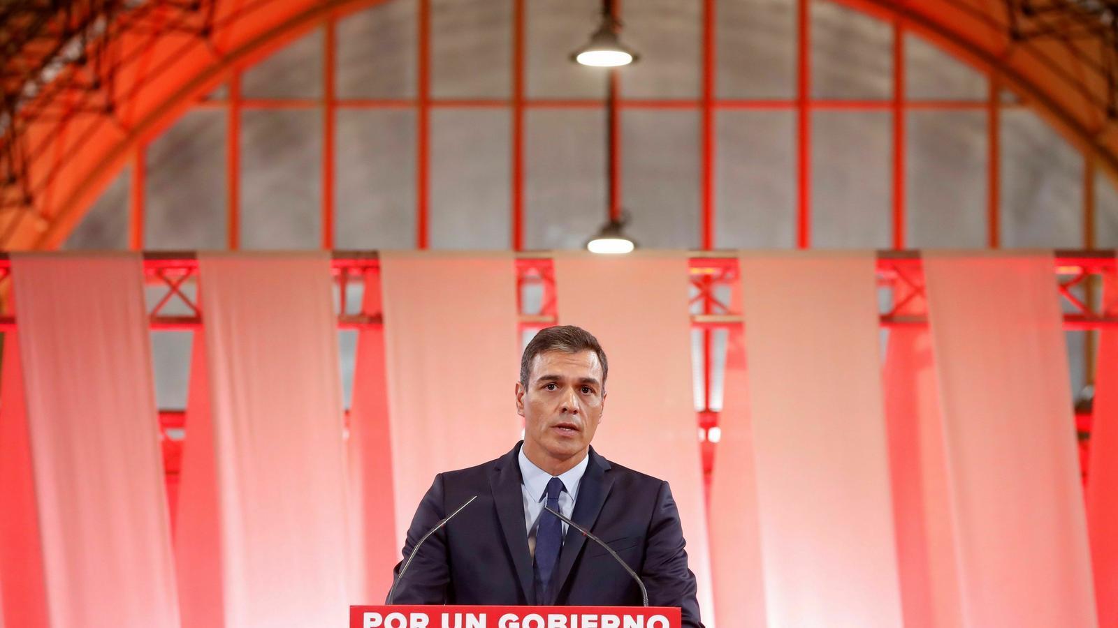 Sánchez torna a oferir alts càrrecs fora dels ministeris a Podem i tanca la porta al referèndum de Catalunya