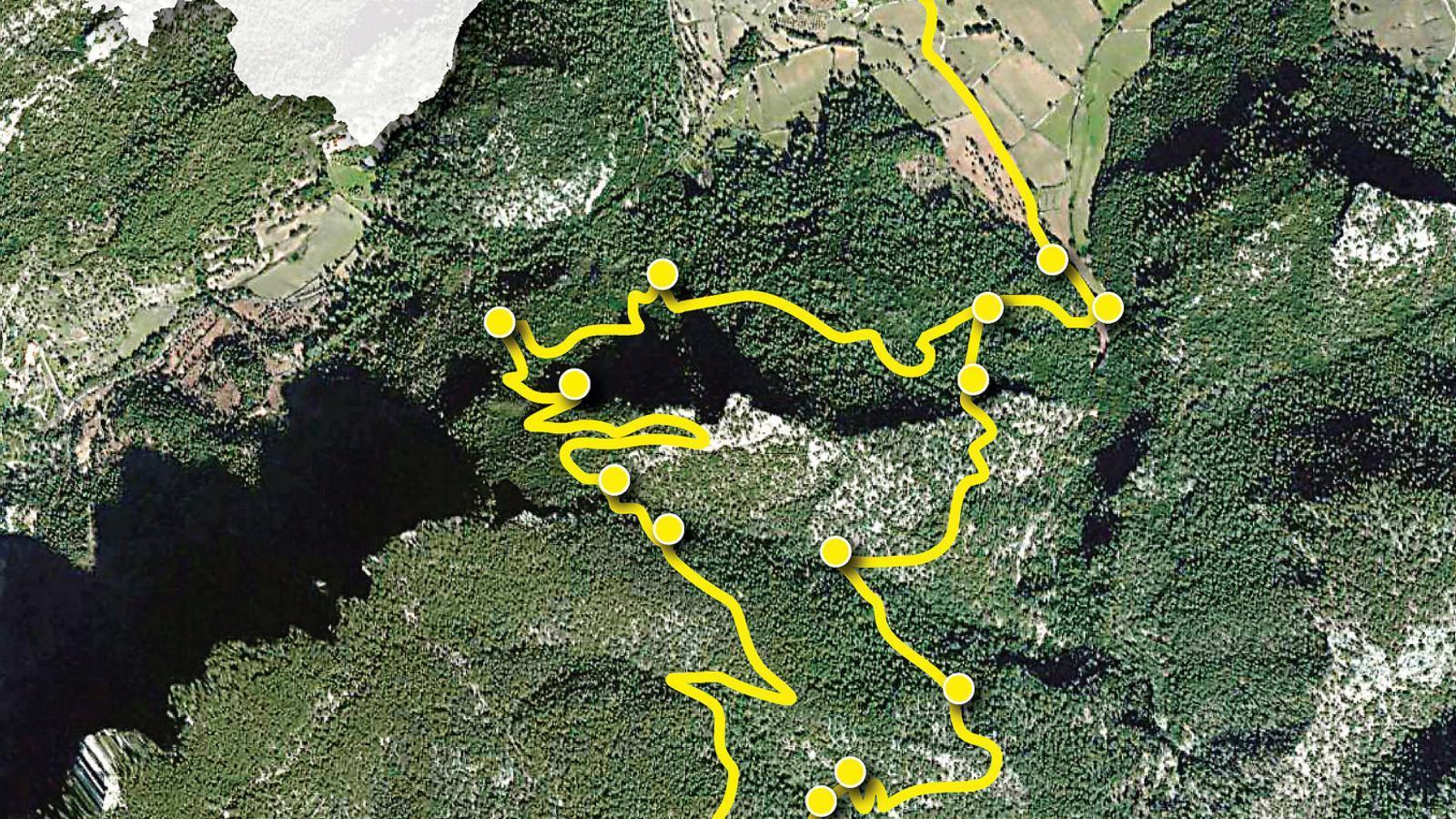 El Freu, el pas de can Morro, el Picot I el pas d'Honor