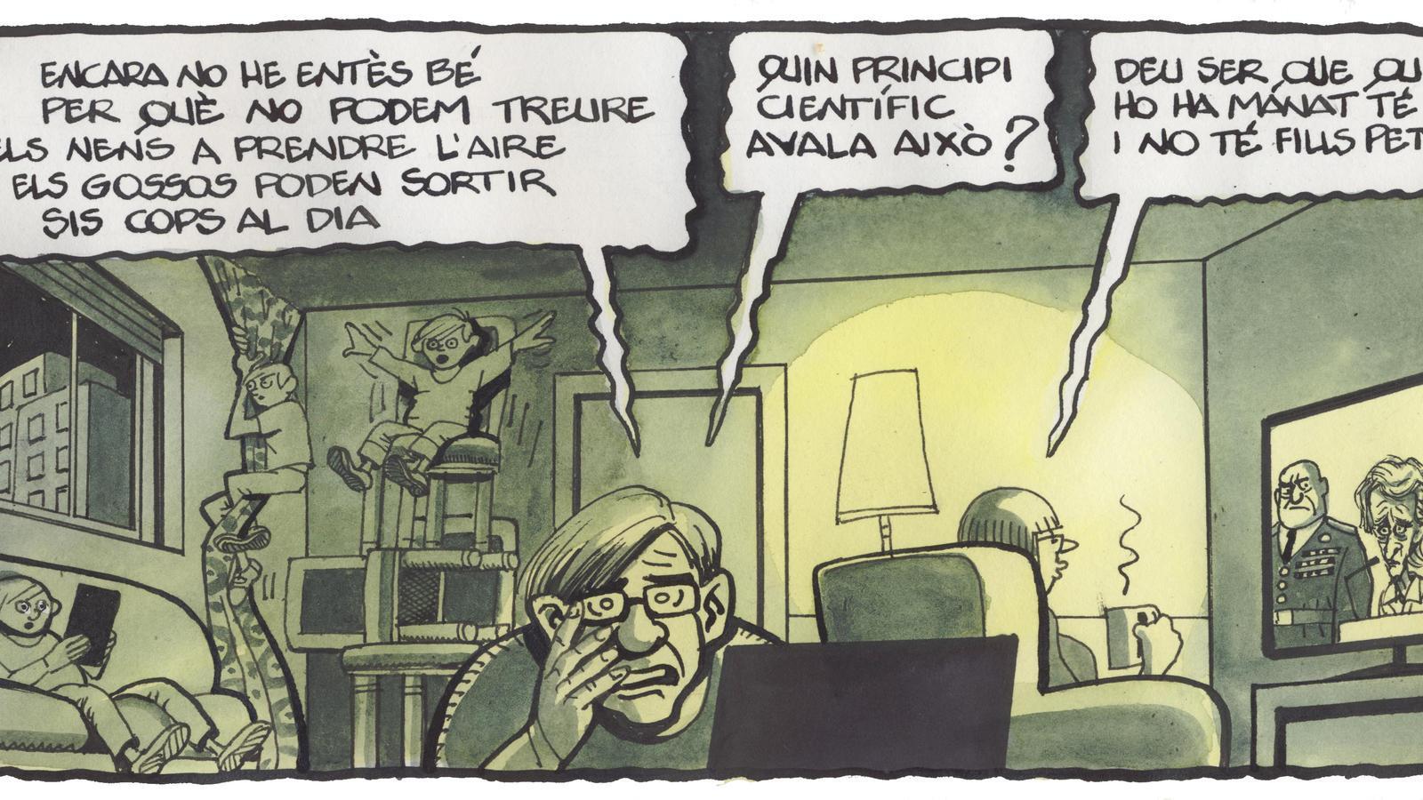 'A la contra', per Ferreres 28/03/2020