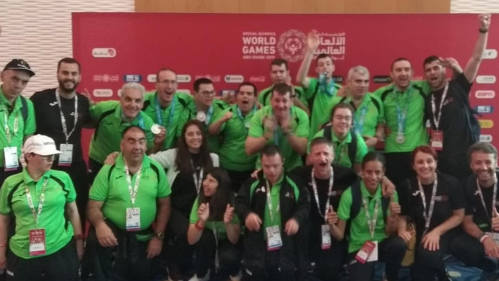 Andorra ha aconseguit dues medalles d'or en els mundials d'Abu Dhabi. / AGÈNCIA