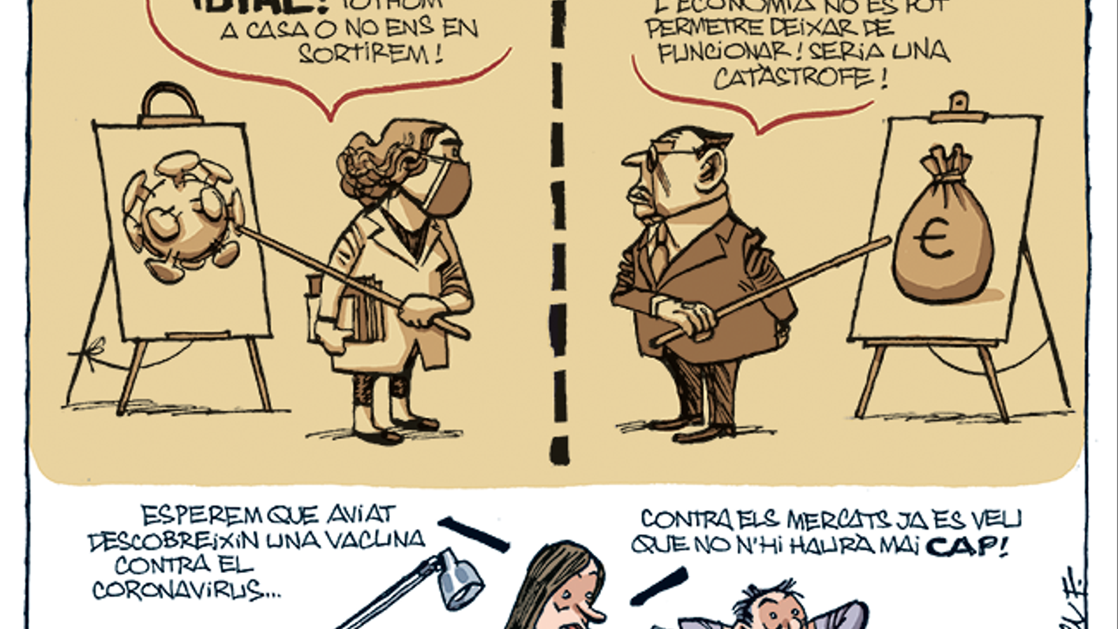 La vinyeta de Manel Fontdevila 22/03/2020
