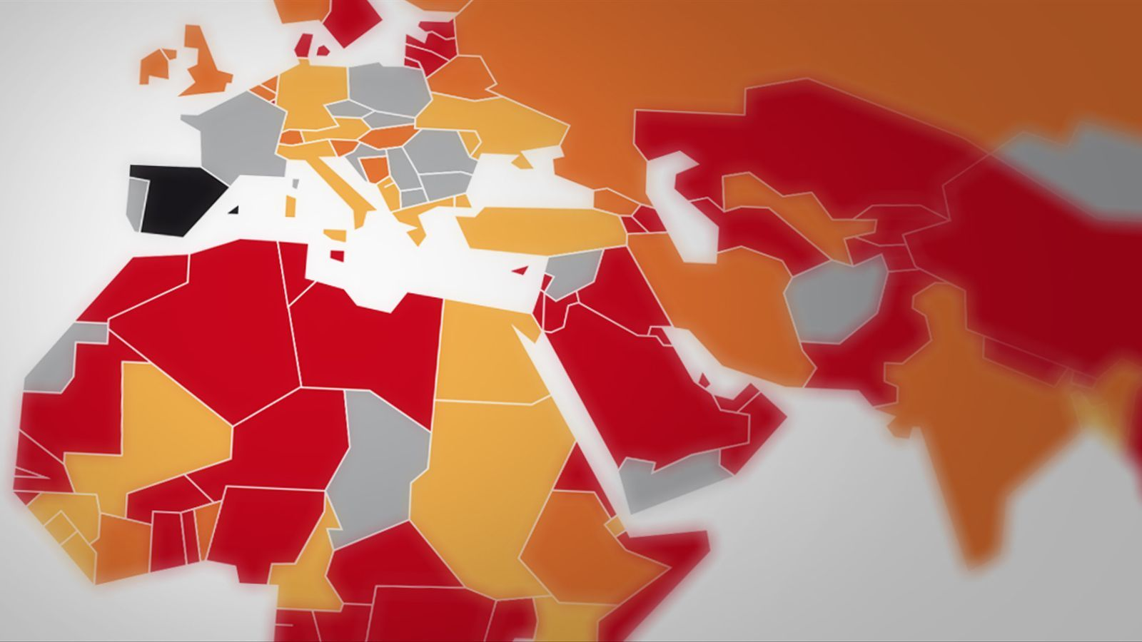 Més de tres quartes parts dels països del món imposen restriccions als viatgers procedents d'Espanya pel coronavirus