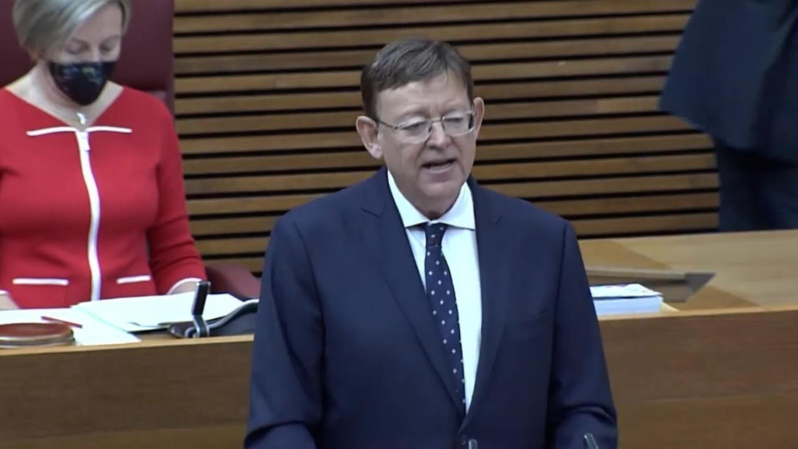 """Ximo Puig: """"Madrid és una gran aspiradora que absorbeix recursos, població, funcionaris estatals i xarxes d'influència"""""""