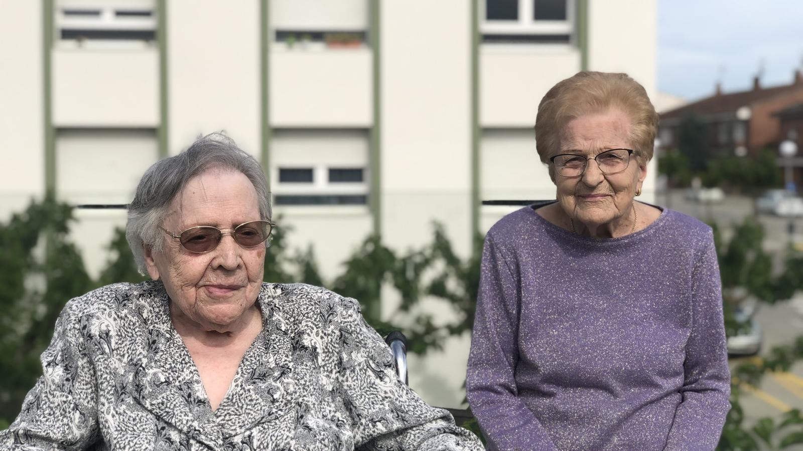 """Superar el covid-19 als 106 anys: """"He estat fotuda però ara ja ha passat"""""""