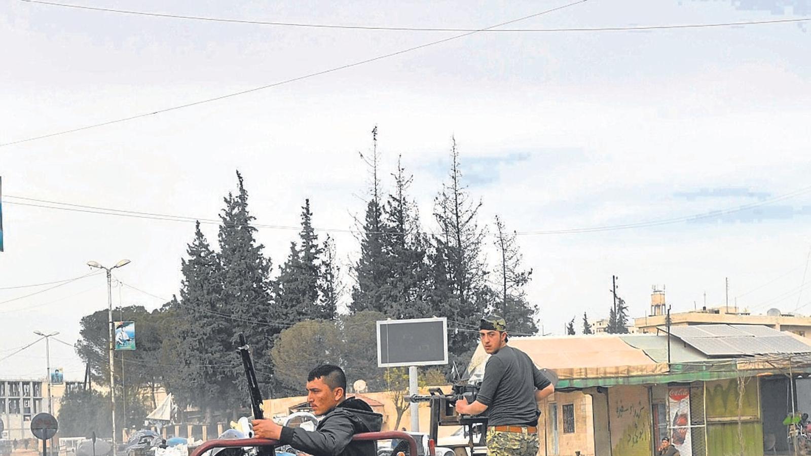 Erdogan canta victòria a Afrin