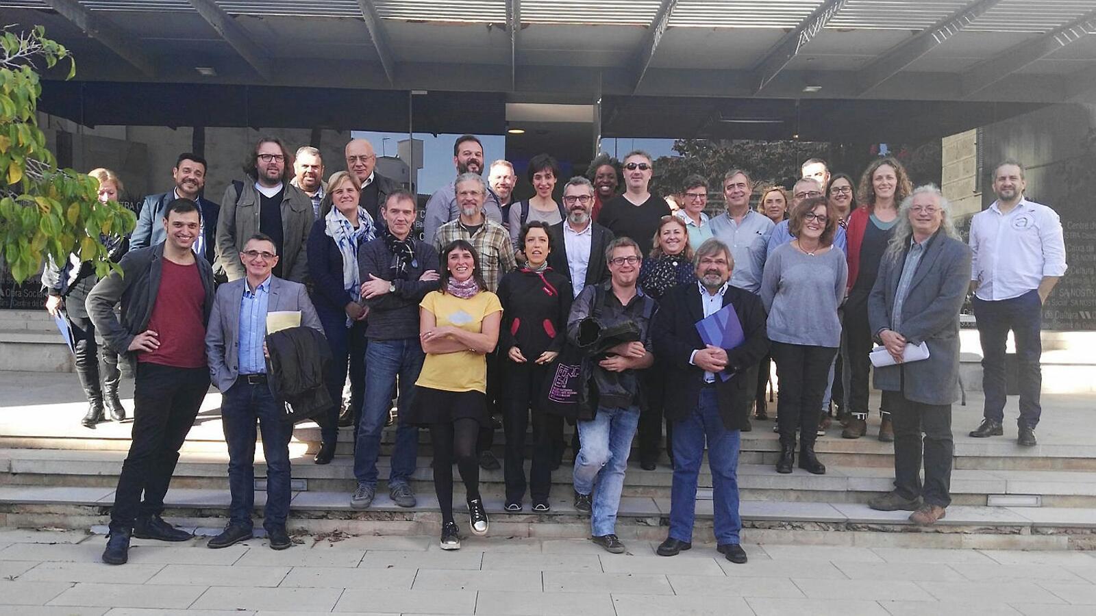 Professionals  I programadors d'ajuntaments, després de la primera trobada CACIM.