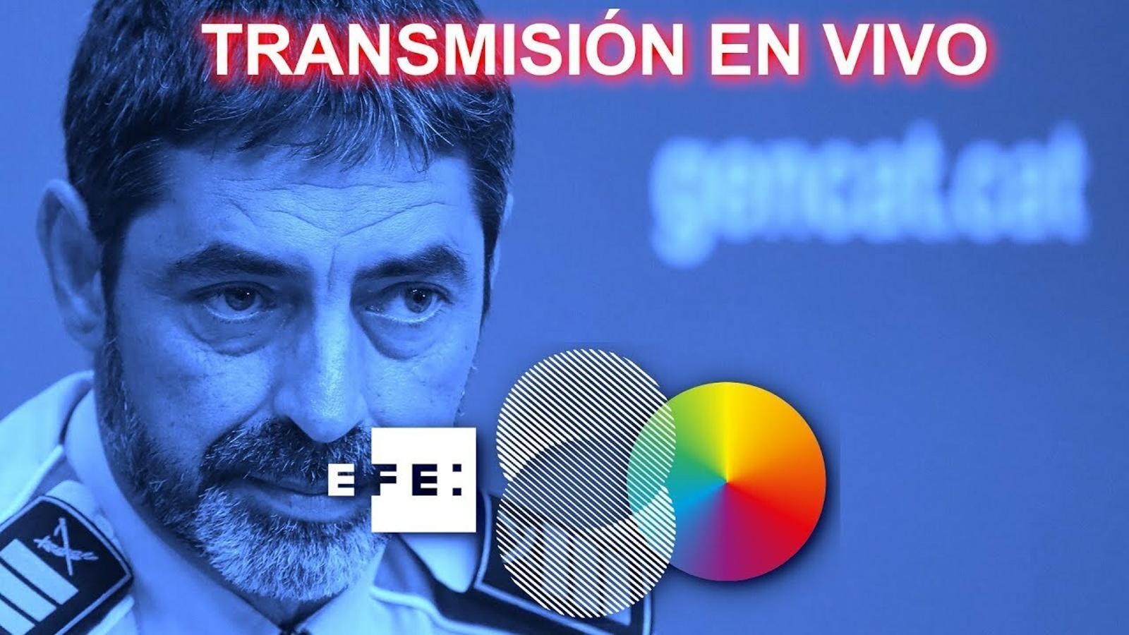 EN DIRECTE: Diego Pérez de los Cobos declara a l'Audiència Nacional en el judici contra Trapero i l'excúpula dels Mossos