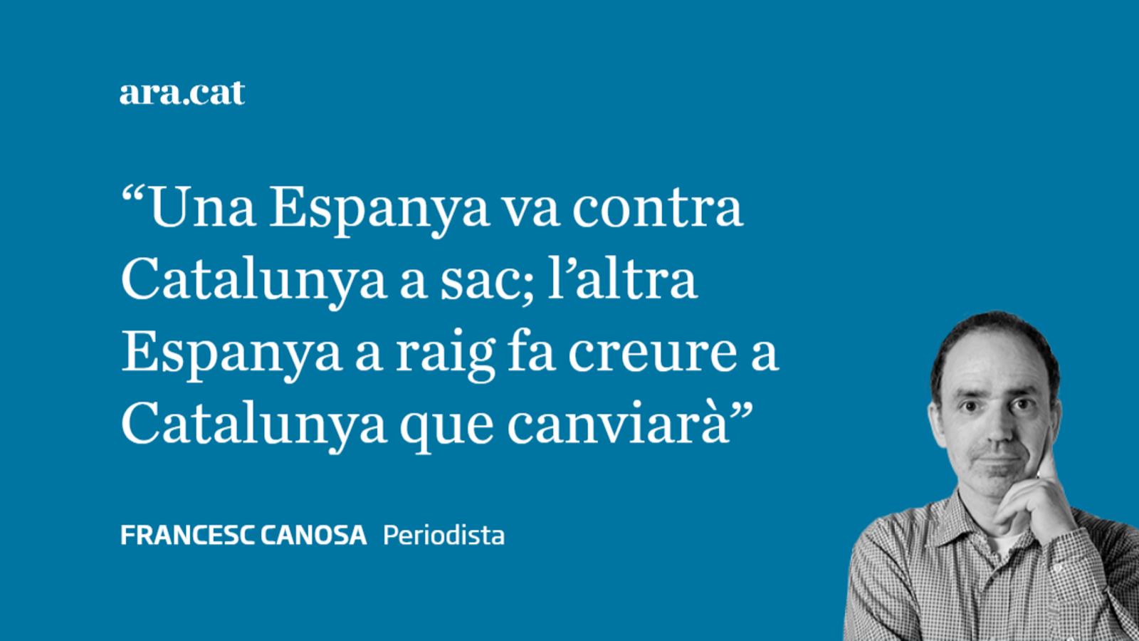 Catalunya, entre el sabre i la bomba