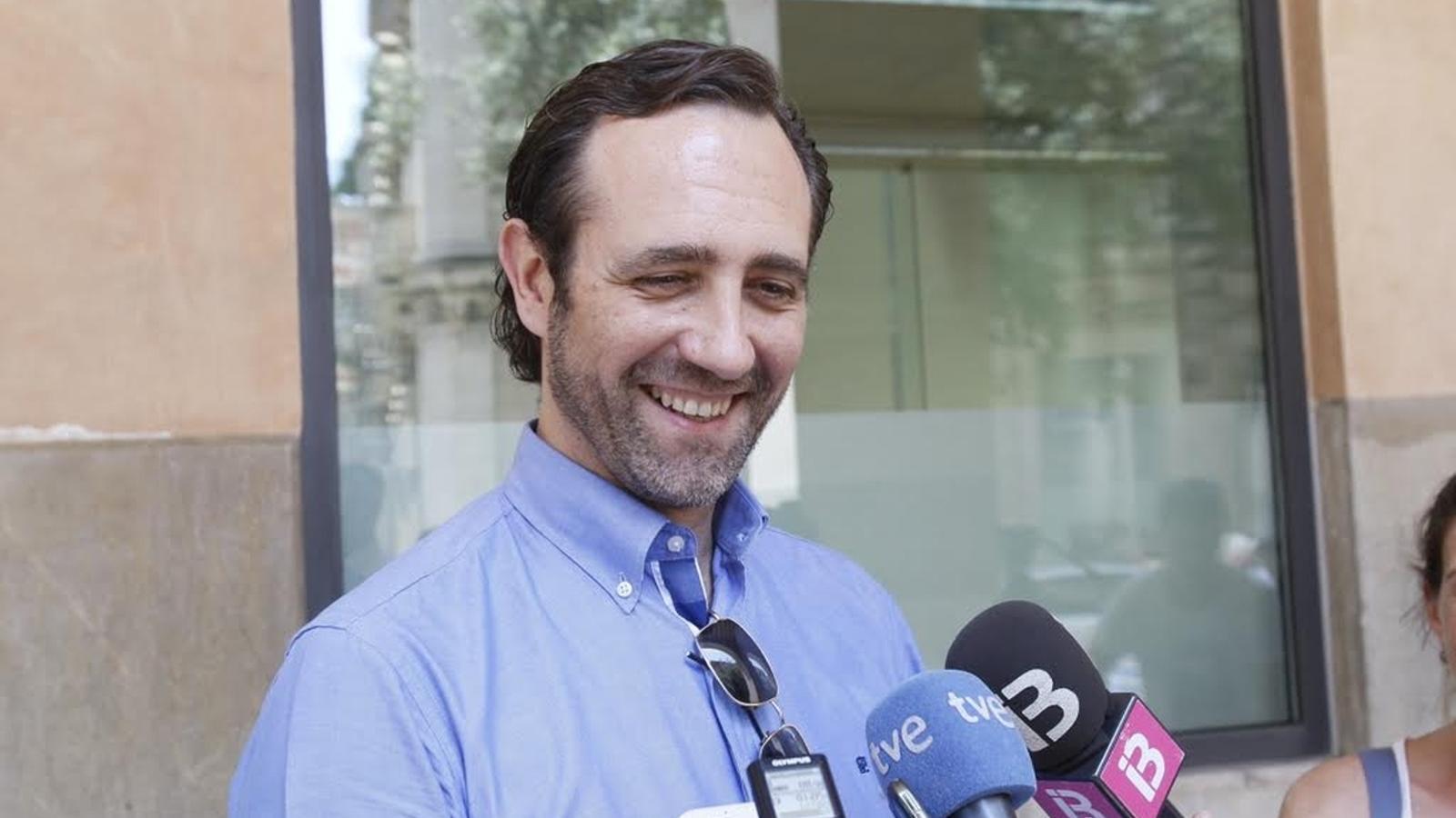L'expresident del Govern balear, José Ramón Bauzá.