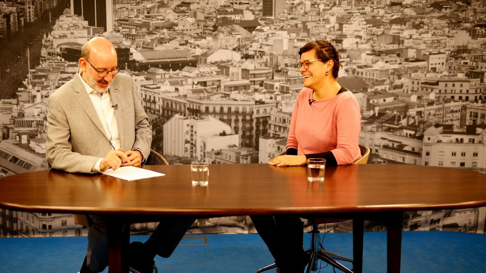 Antoni Bassas entrevista a Natàlia Sànchez