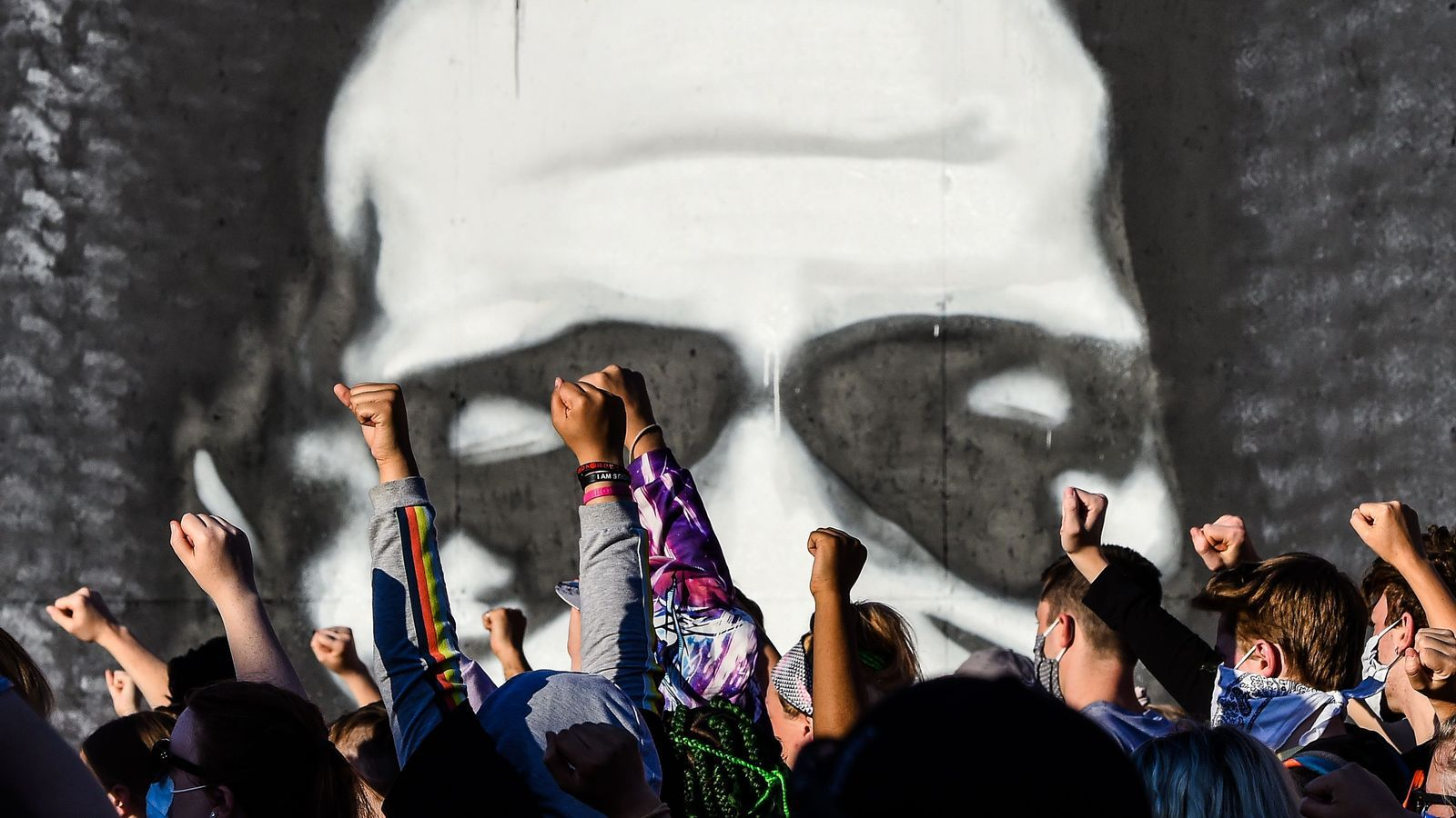 Protestes a Minneapolis, Minnesota, per l'assassinat de George Floyd