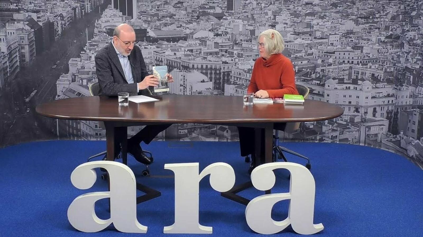 Entrevista d'Antoni Bassas a Frances Luttikhuizen
