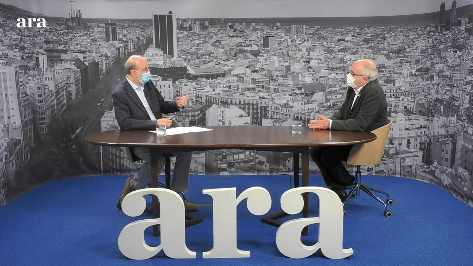 Entrevista d'Antoni Bassas a Josep Bargalló