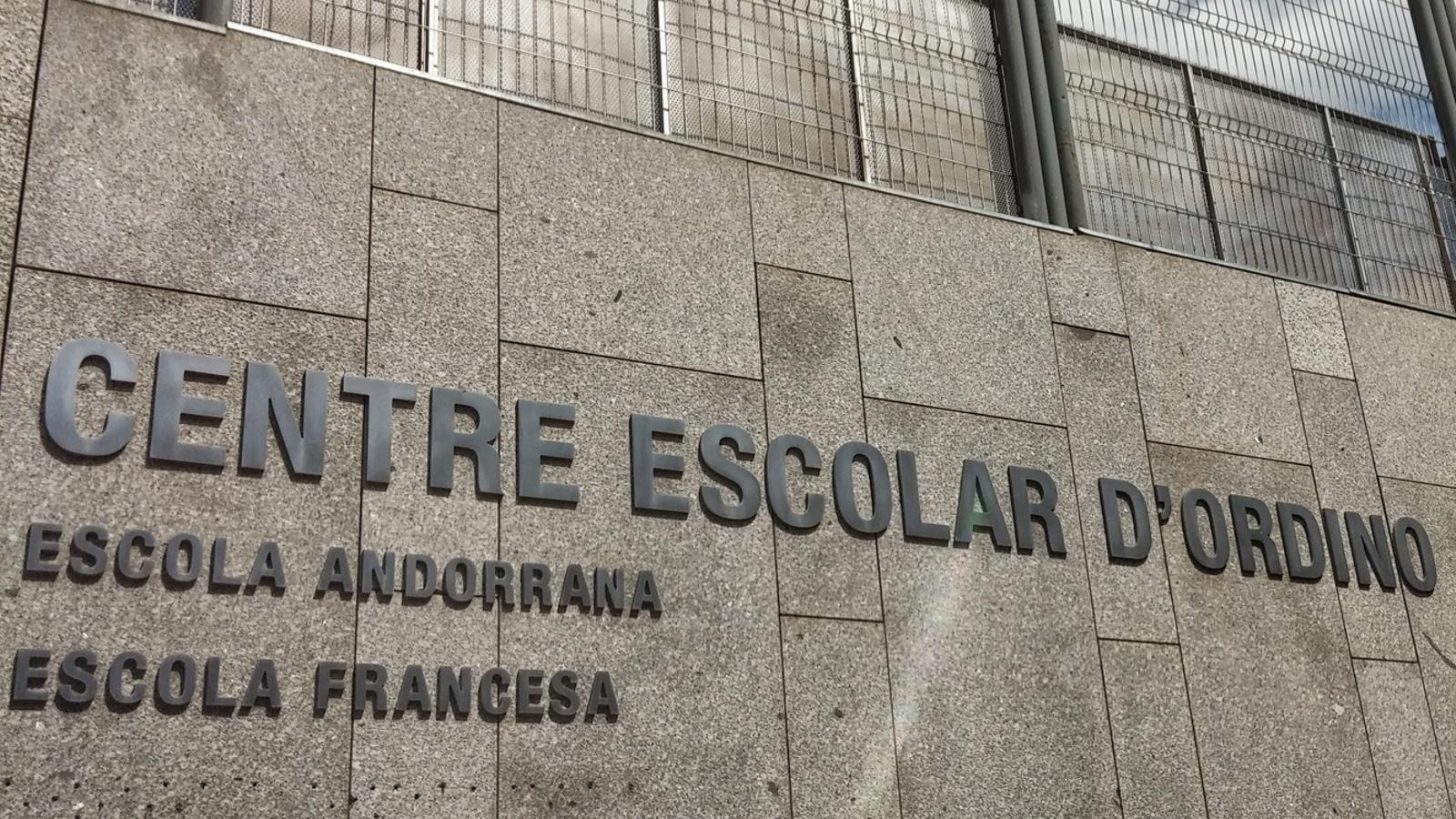 La façana de l'escola francesa d'Ordino. / NOVA CONSTRUCTORA ANDORRA