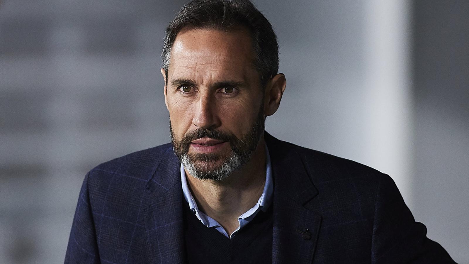 Vicente Moreno, entrenador de l'Espanyol.