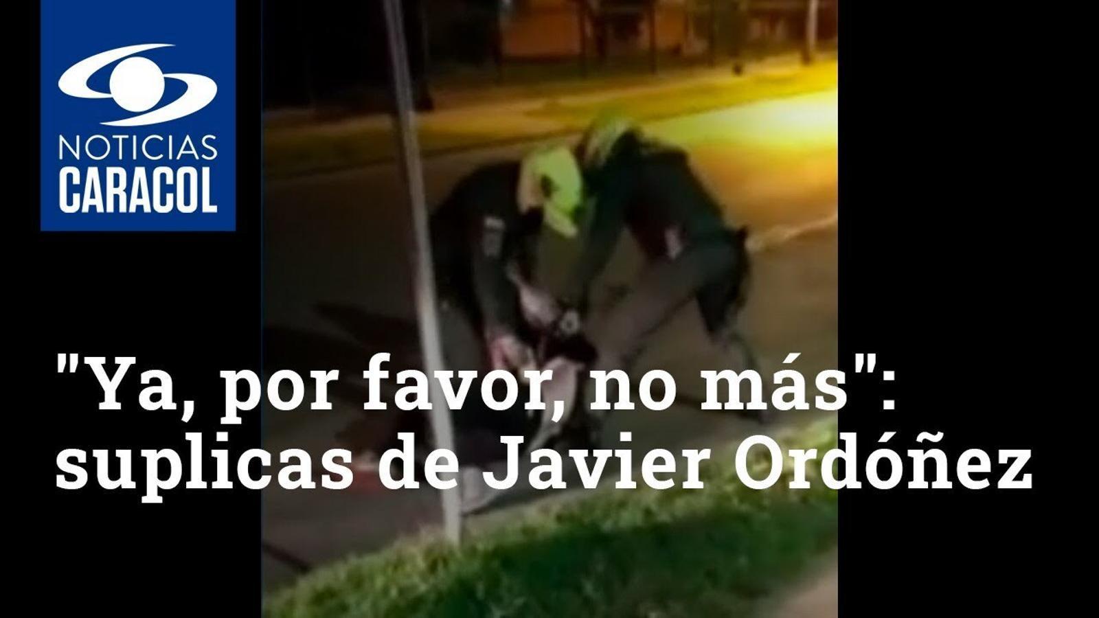 Vídeo de la brutalitat policia de Colòmbia en la detenció de l'advocat Javier Ordóñez