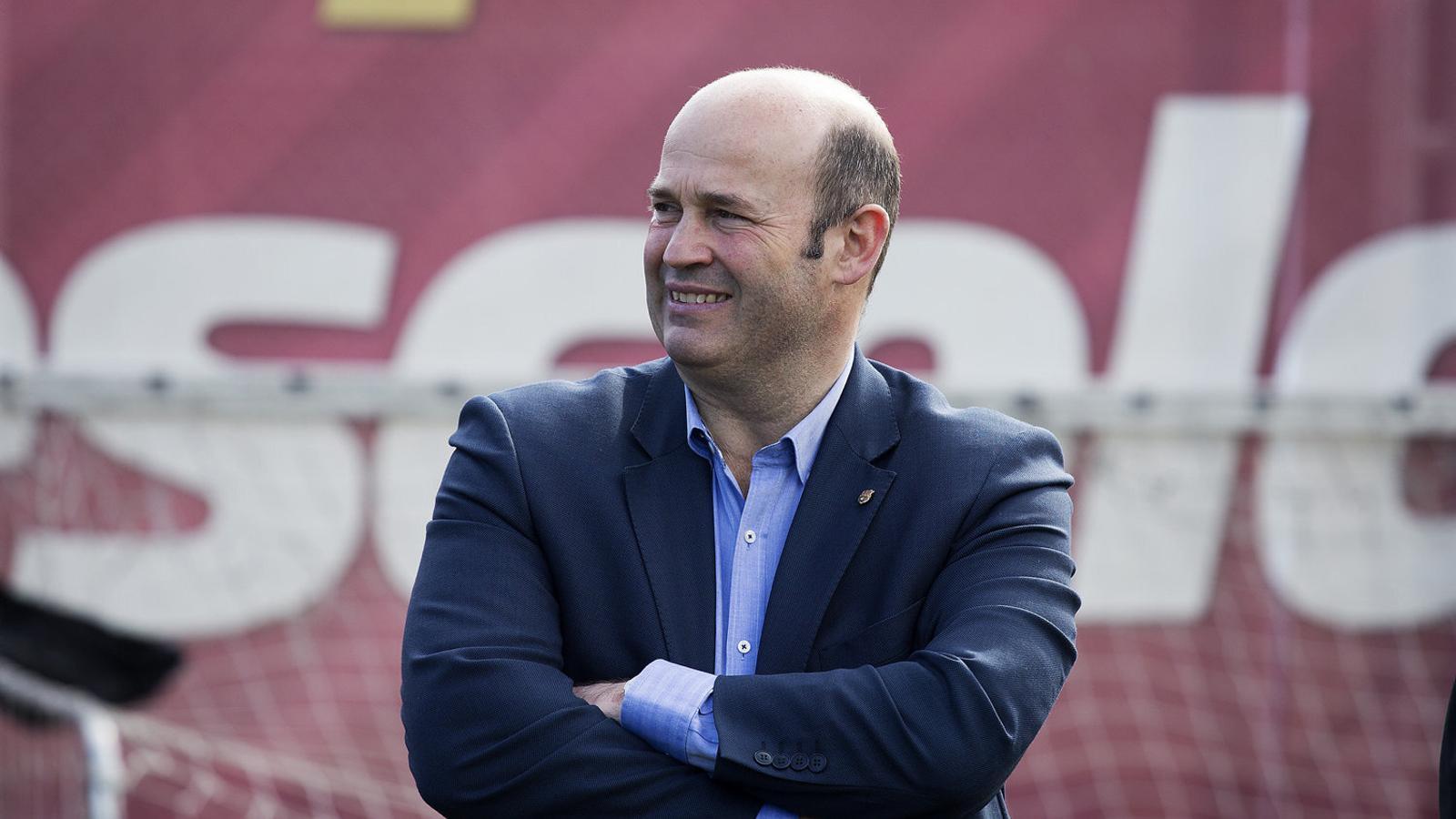 El director executiu del Barça, Òscar Grau.