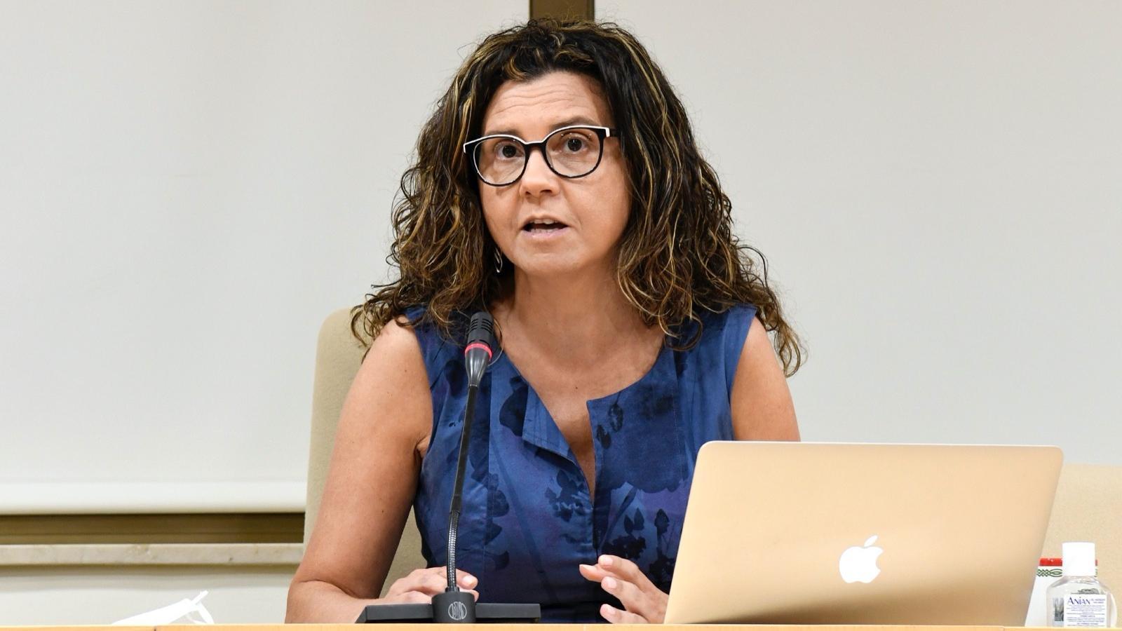 L'alcaldessa de Paiporta, Isabel Martín, en una imatge d'arxiu