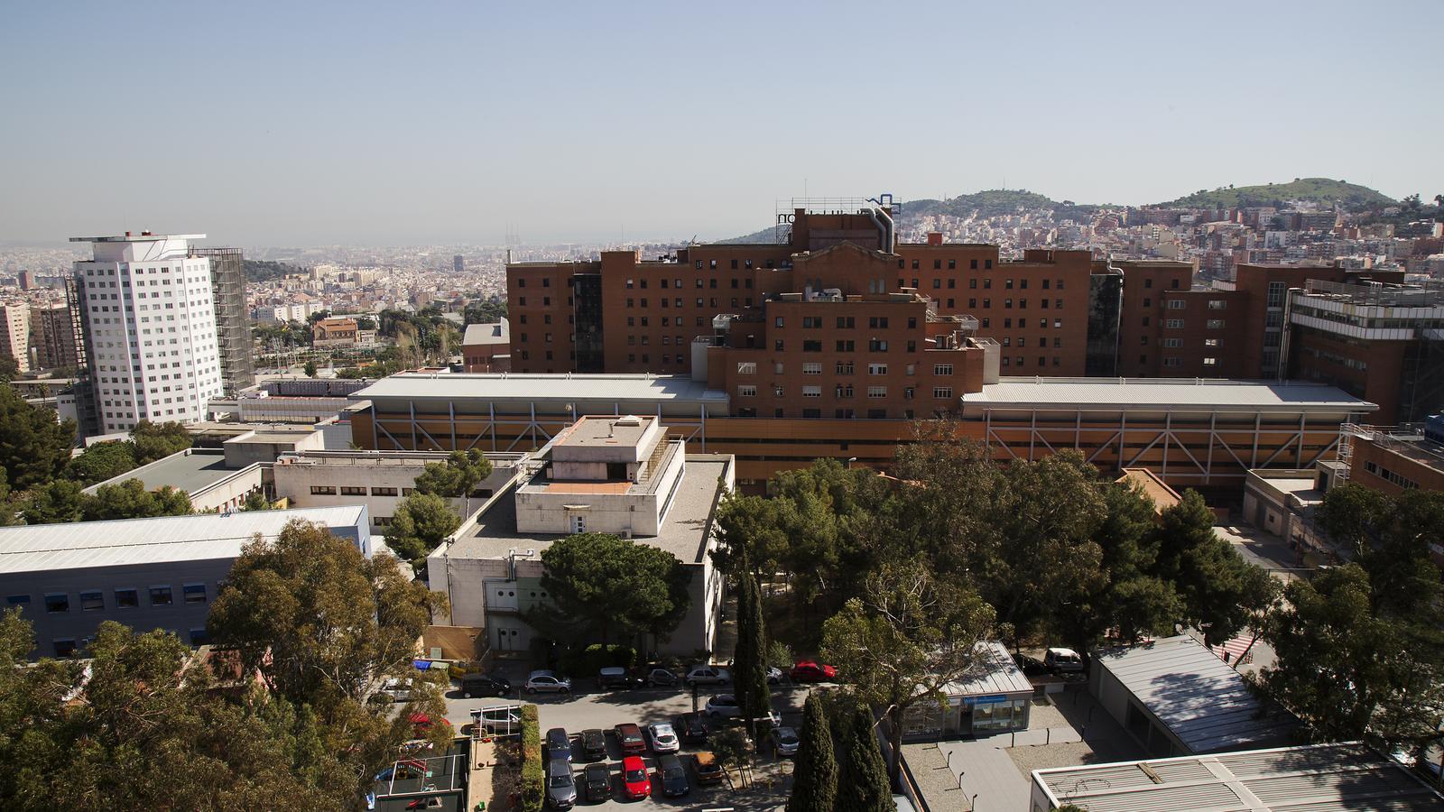 Imatge d'arxiu de l'Hospital Vall d'Hebron de Barcelona