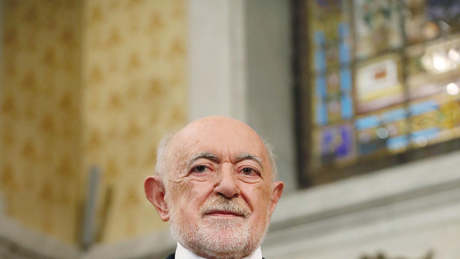 El mallorquí García Gual, acadèmic de la RAE