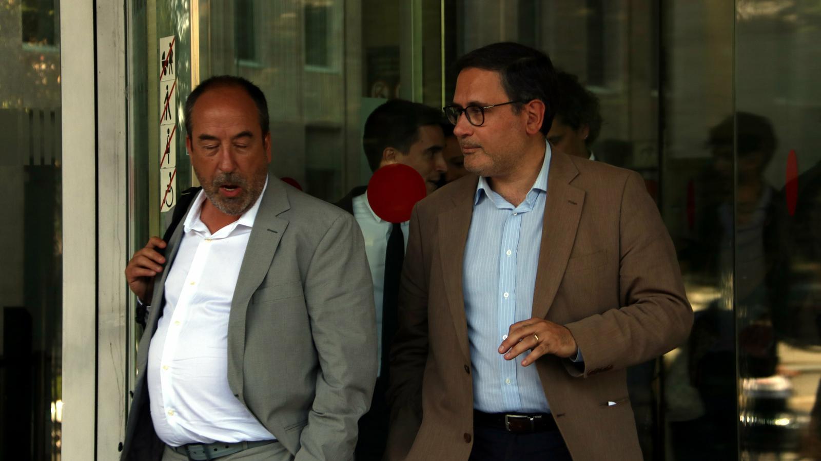 La interventora de la Generalitat es desvincula d'un suposat pagament als observadors de l'1-O