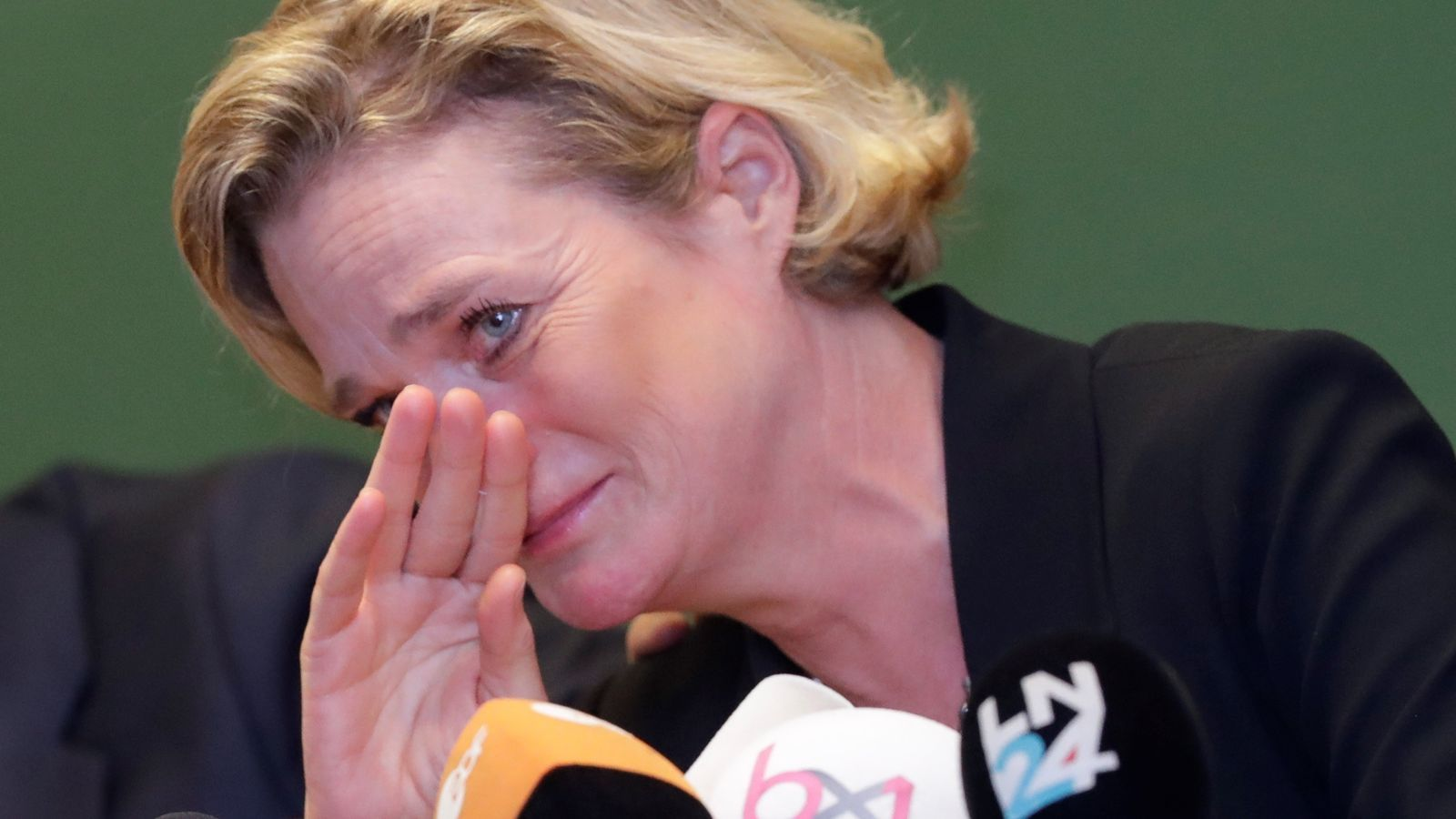 Delphine Boël és oficialment princesa després de ser reconeguda com a filla d'Albert II de Bèlgica en la roda de premsa posterior a conèixer-se la decisió judicial