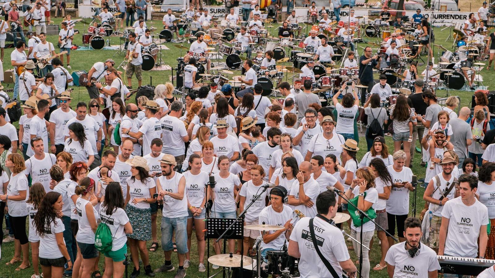 Més de 4000 persones homenatgen Springsteen a Bellpuig
