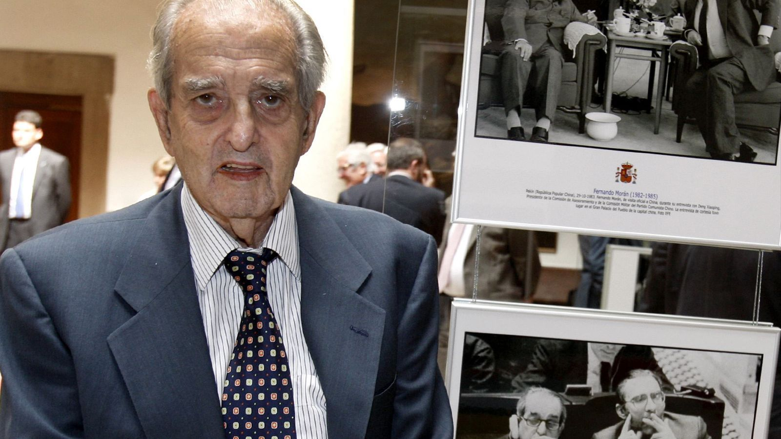 Fernando Moran López, exministre d'afers exteriors