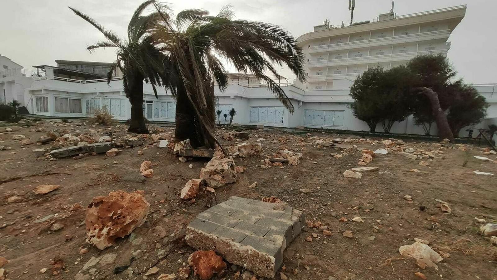 Els danys provocats per la borrasca Glòria es concentraren en el Llevant mallorquí