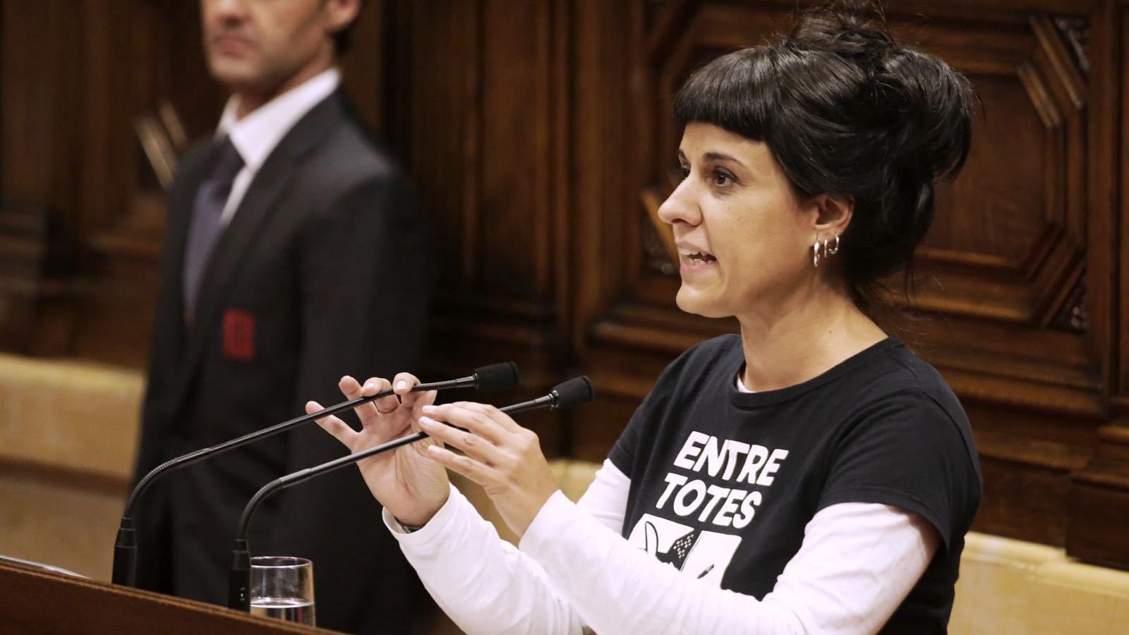 """La CUP considera """"tocada"""" la confiança en el Govern i es planteja abandonar """"l'activitat parlamentària ordinària"""""""