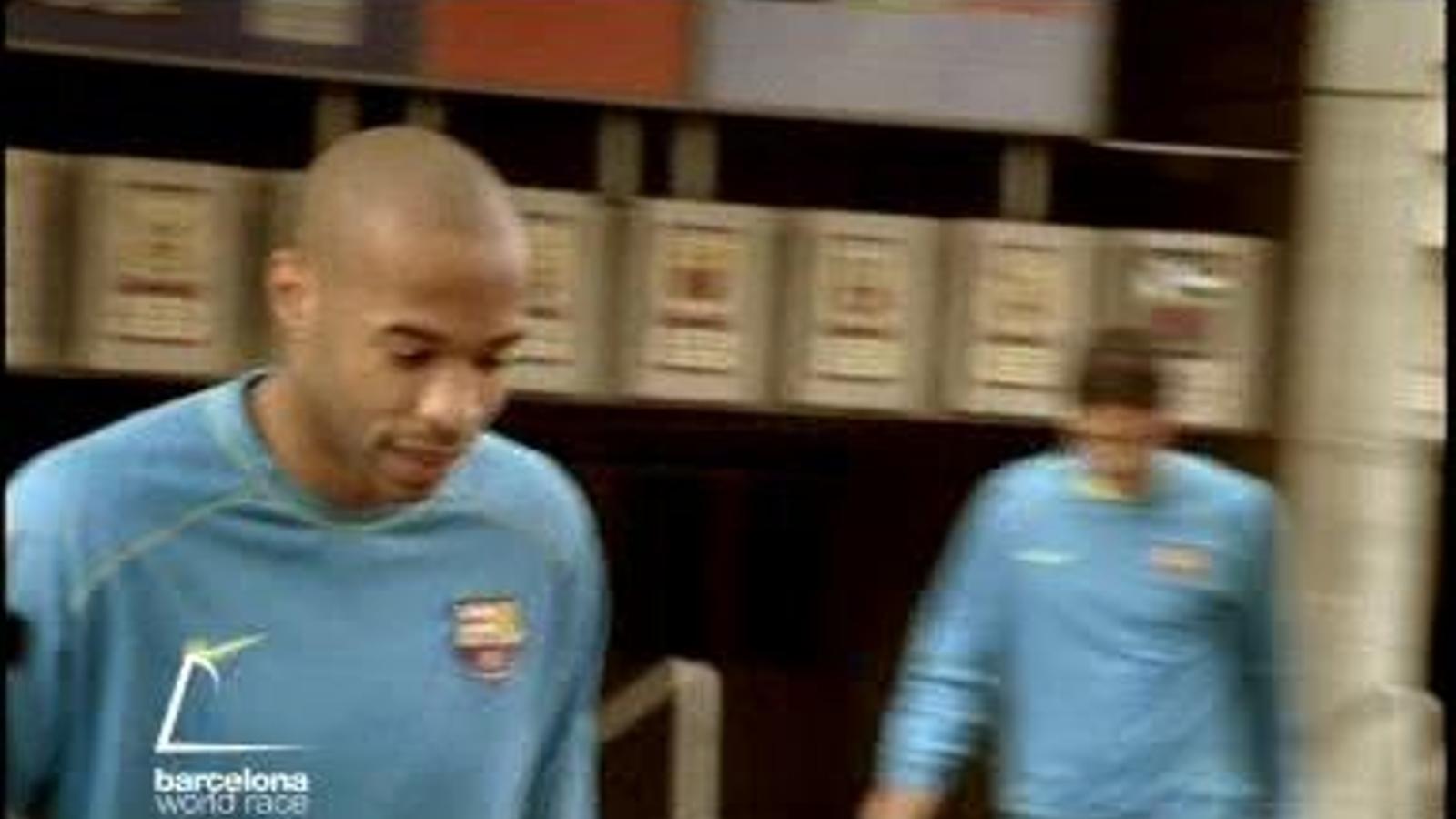 Espot de Damm de 2008: Benvinguda a 'monsieur' Henry