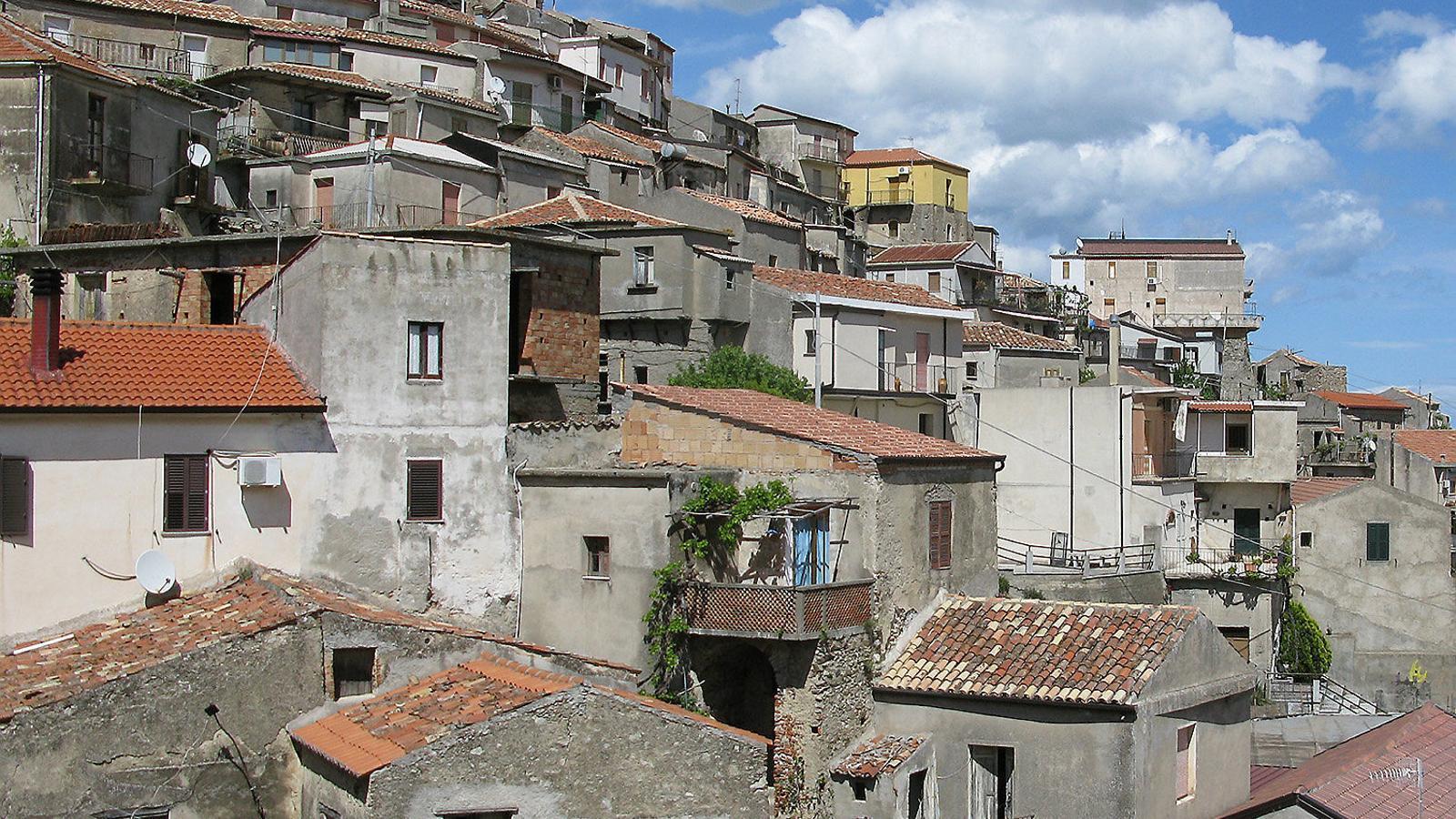 Imatge d'arxiu del petit municipi de Cinquefrondi, a la regió de Calàbria, al sud d'Itàlia.