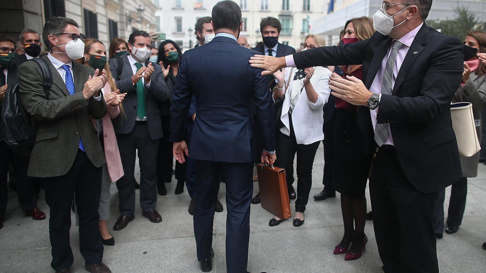 L'encimbellament de Casado i la defenestració de Santiago Abascal