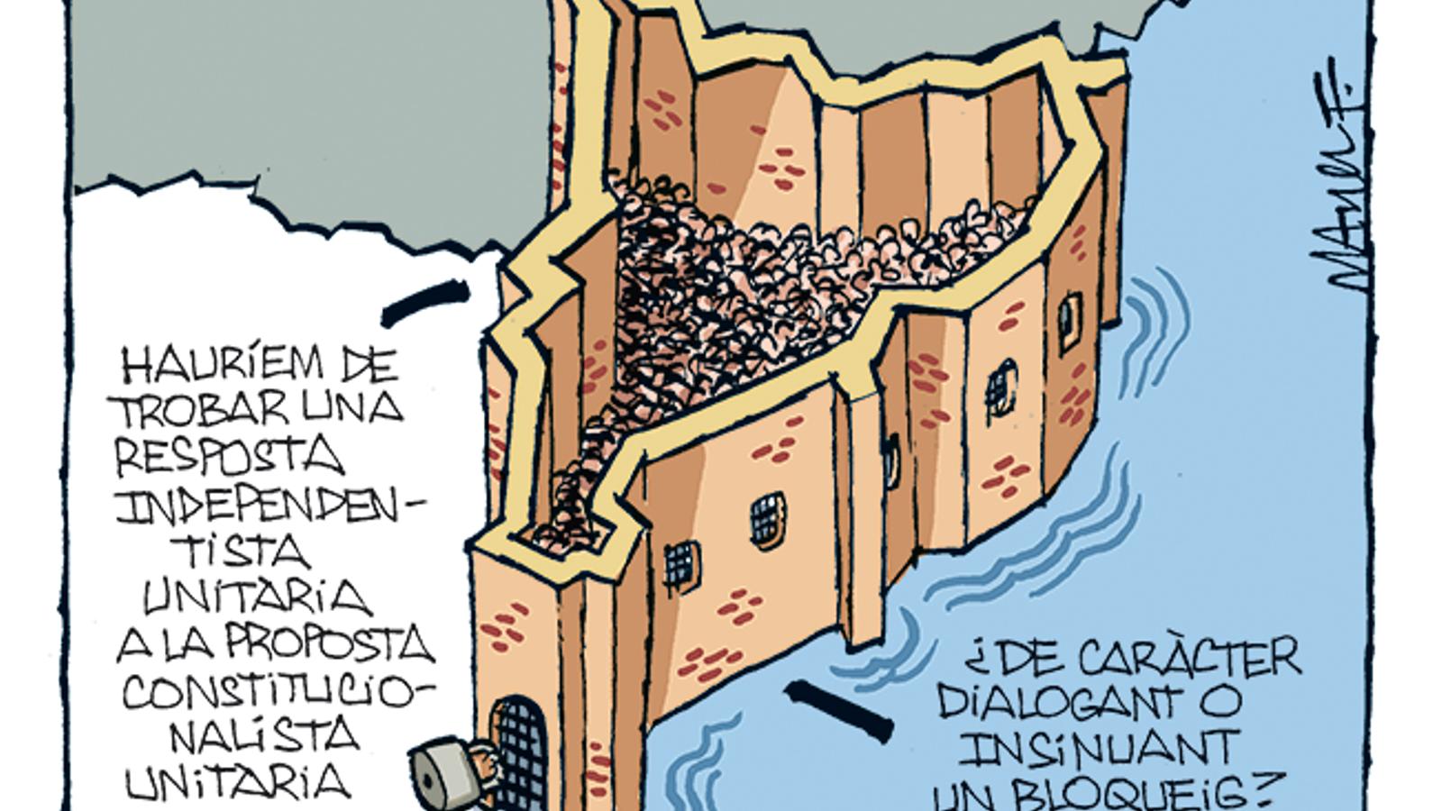 La vinyeta de Manel Fontdevila 01/11/2019