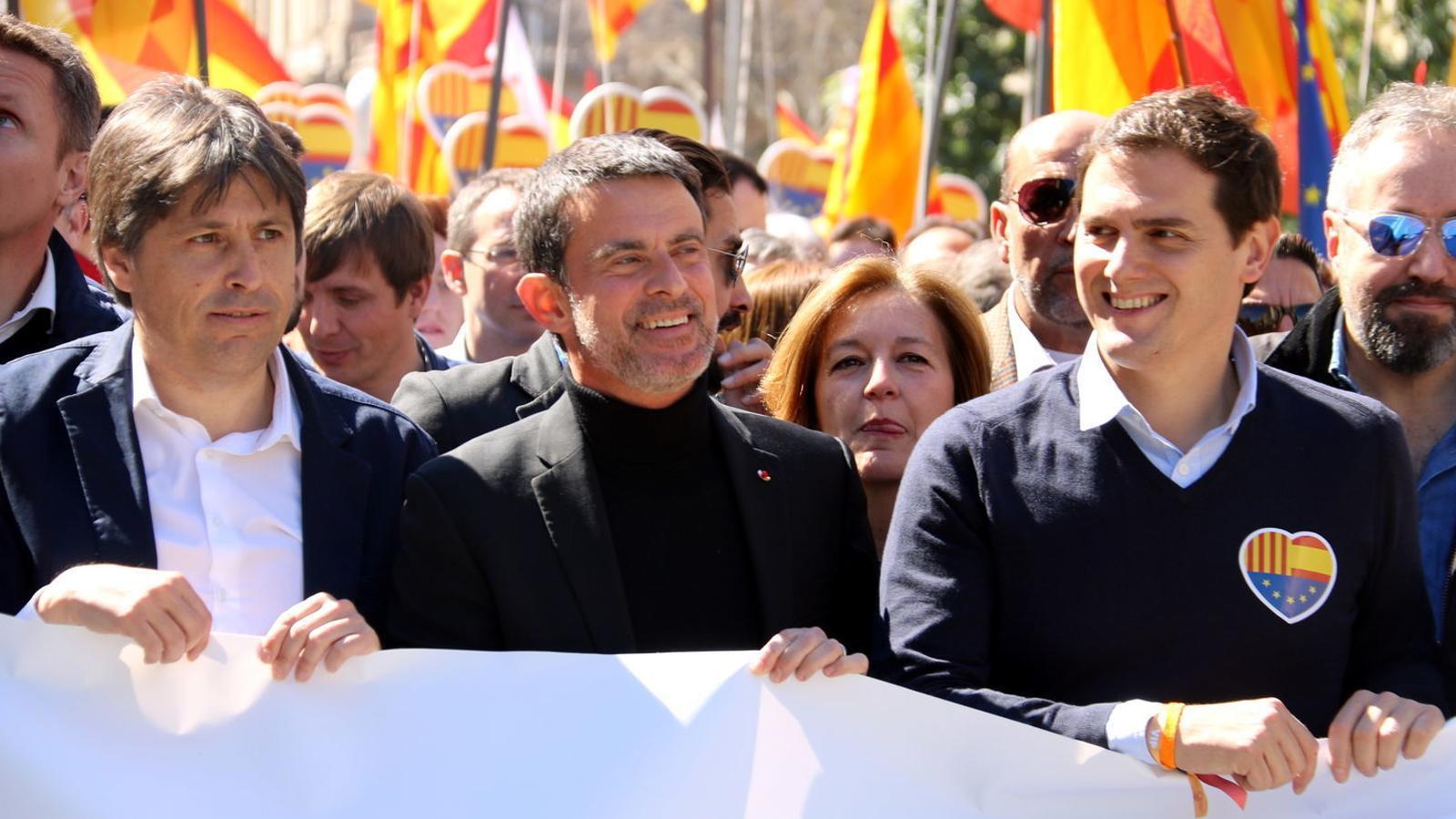Manuel Valls estudia l'oferta de Ciutadans per ser l'alcaldable per Barcelona